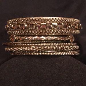 Graziano bangle bracelet set